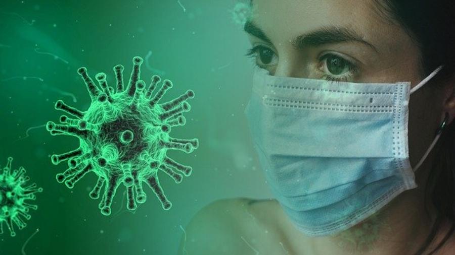 coronavirus green